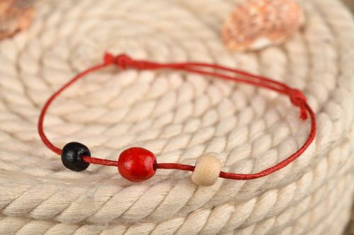 Beautiful handmade cord bracelet fashion tips textile jewelry gifts for her - MADEheart.com