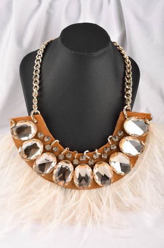 Handmade stylish jewelry elite designer accessories feminine unusual necklace - MADEheart.com