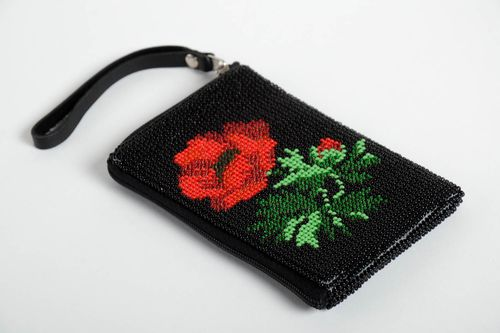 Handmade textile phone case leather phone case accessories for gadgets - MADEheart.com
