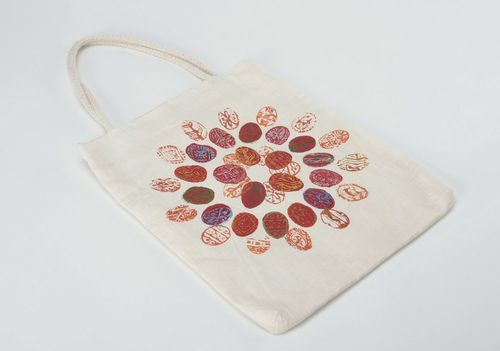 Linen bag with print - MADEheart.com