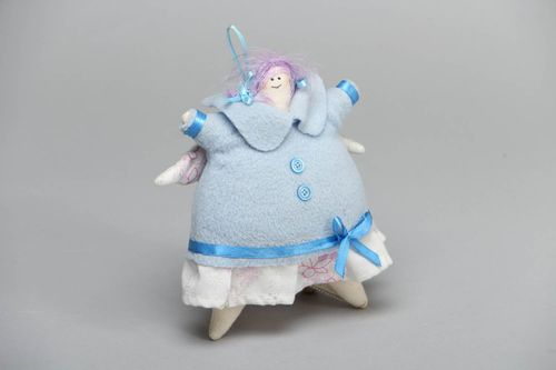 Unusual designer toy with eyelet Fatty - MADEheart.com