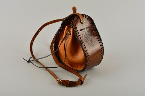 Handmade leather bag leather purse leather bags for women gifts for girls - MADEheart.com