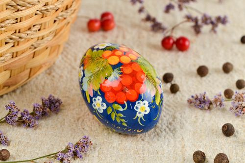 Beautiful handmade wooden Easter egg modern decor ideas decorative use only - MADEheart.com
