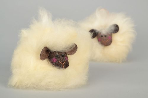 Fur toy Fluffy Lamb - MADEheart.com