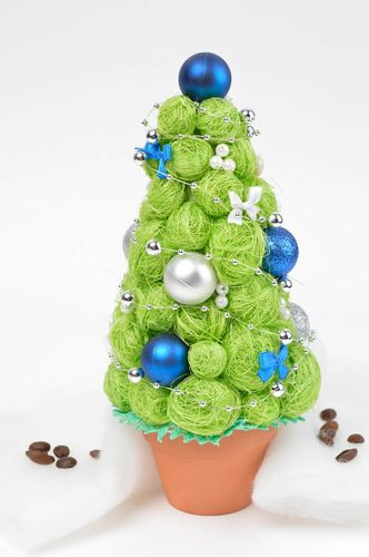 Handmade tree unusual tree table decor artificial tree of happiness gift ideas - MADEheart.com