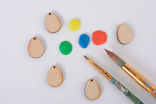 Blanks for creativity in the shape of eggs  - MADEheart.com