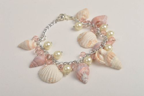 Handmade stylish bracelet jewelry with charms designer elegant jewelry - MADEheart.com