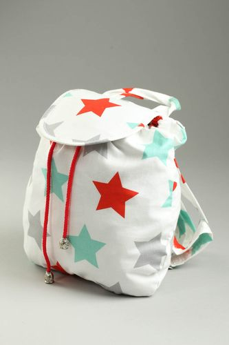 Fashion backpack handmade fabric backpack elegant bags accessories for women - MADEheart.com