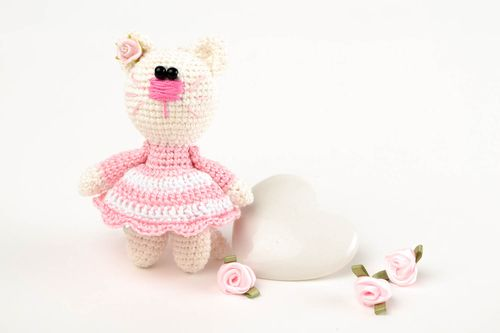 Handmade crocheted toy designer toy unusual toy for kids collectible toy - MADEheart.com