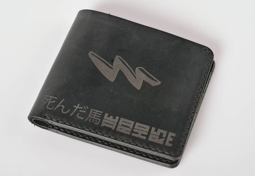 Handmade leather wallet mens leather wallets designer accessories gifts for him - MADEheart.com