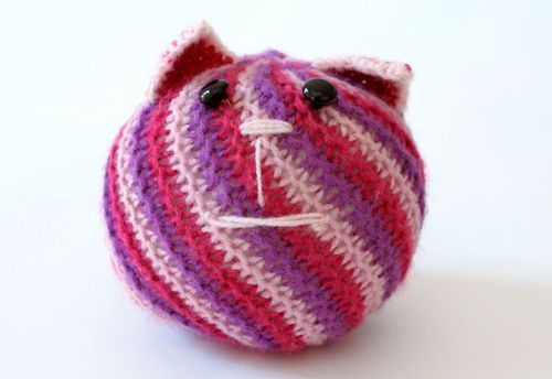 Kids toy Cat ball - MADEheart.com
