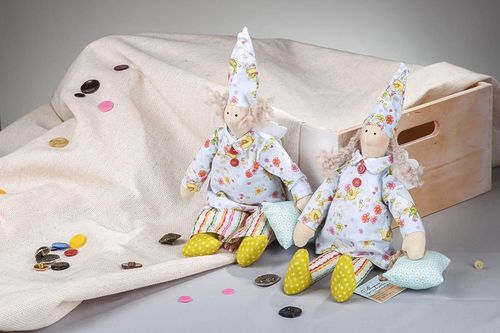Pair of Tilda dolls Sleepy dolls  - MADEheart.com