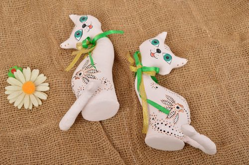 Handmade toy for kids animal toy for children nursery decor 2 items set - MADEheart.com