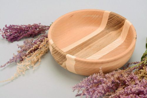 Wooden plate for dry products - MADEheart.com