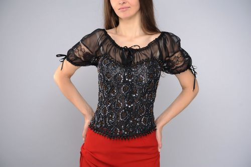 Set of clothes: skirt, blouse, corset - MADEheart.com
