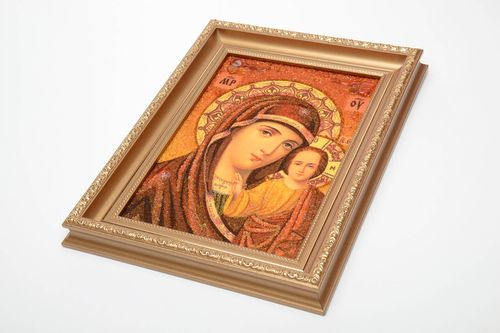 Orthodox icon Our Lady of Kazan - MADEheart.com