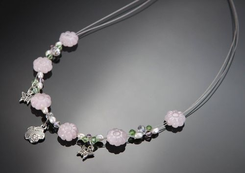Necklace with natural stones - MADEheart.com