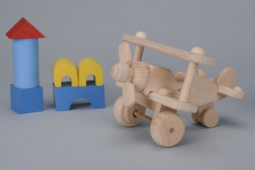 Wooden plane - MADEheart.com