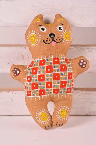 Handmade designer painted toy stylish unusual toy scented cute nursery decor - MADEheart.com