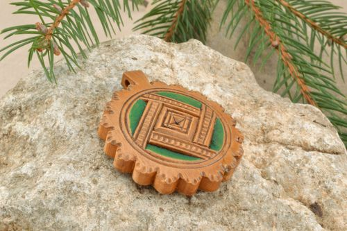 Wooden amulet - MADEheart.com