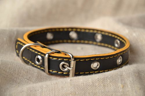 Stylish double dog collar - MADEheart.com
