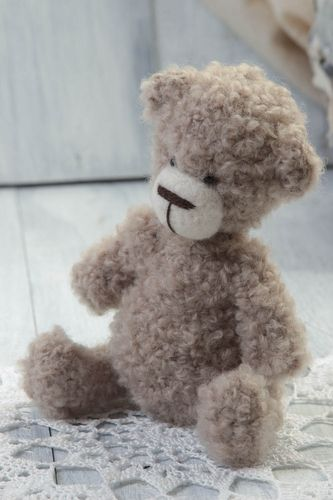 Handmade toy bear toy crochet toy designer toy interior toy gift ideas - MADEheart.com