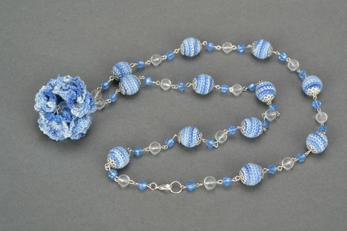 Long bead necklace - MADEheart.com