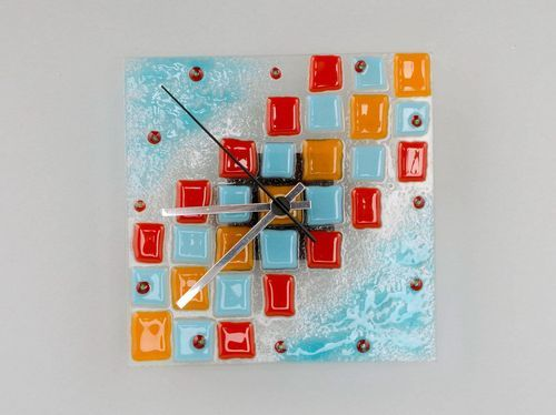 Glass clocks Mosaic - MADEheart.com