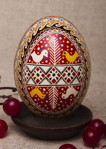 Painted Easter egg - MADEheart.com