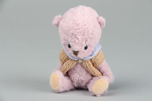 Childrens toy Bear Rose - MADEheart.com