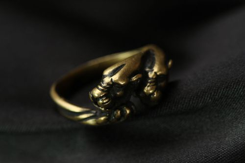Homemade seal ring Panthers - MADEheart.com