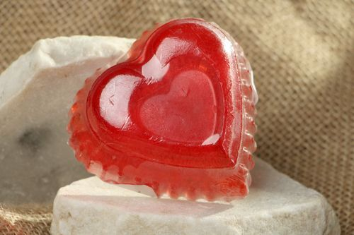 Soap Heart - MADEheart.com