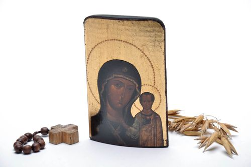 Printed icon of the Mother of God and Child - MADEheart.com
