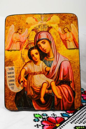 Handmade icon orthodox icons unusual icon beautiful icon icons of saints - MADEheart.com