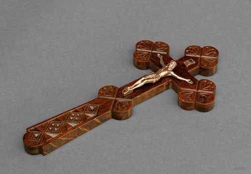Orthodox wall crucifix - MADEheart.com