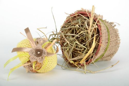 Easter decoration Wooden egg - MADEheart.com