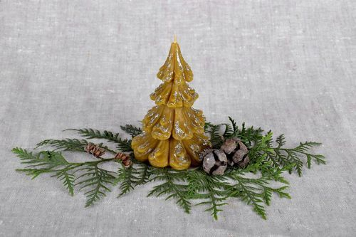 Decorative candle Fir-tree - MADEheart.com