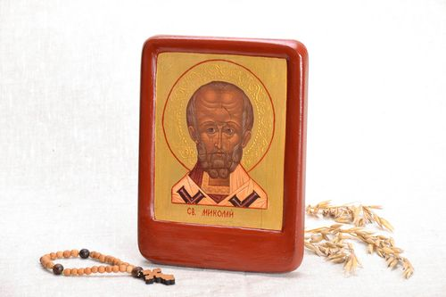 Reproduction of the icon of St. Nicholas - MADEheart.com