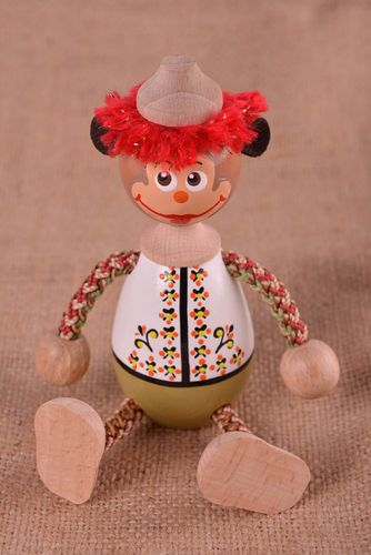 Unusual handmade wooden toy wooden figurine best toys for kids small gifts - MADEheart.com