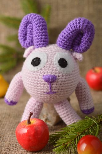 Handmade soft toy animal toy stuffed animals crochet toys gifts for kids - MADEheart.com