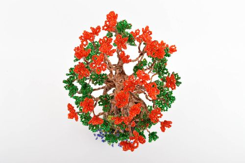 Unusual handmade beaded tree the topiary cool bedrooms decorative use only - MADEheart.com