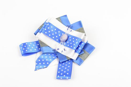 Beautiful handmade bow brooch bow hair clip hair bow accessories for girls - MADEheart.com