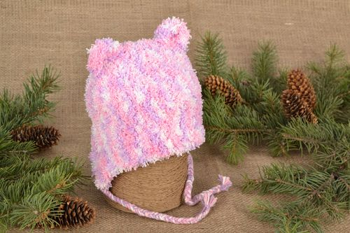 Childrens hat with ears - MADEheart.com