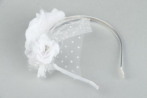 Headband for a Bride - MADEheart.com