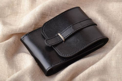 Small leather document bag - MADEheart.com