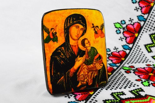 Handmade product wooden products family icon personal icons orthodox gifts - MADEheart.com