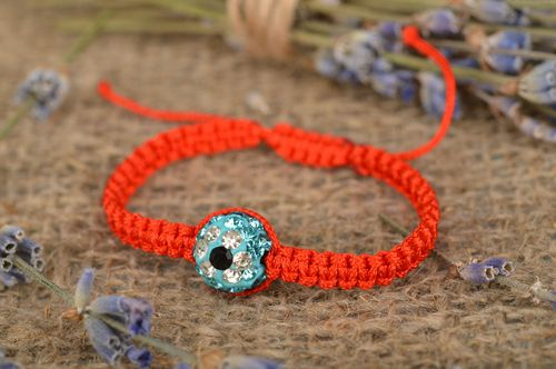 Beautiful handmade braided friendship bracelet string bracelet casual jewelry - MADEheart.com