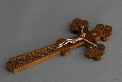 Wall cross with crucifix - MADEheart.com
