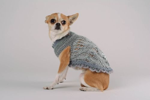 Dress for dogs Silver temptation - MADEheart.com