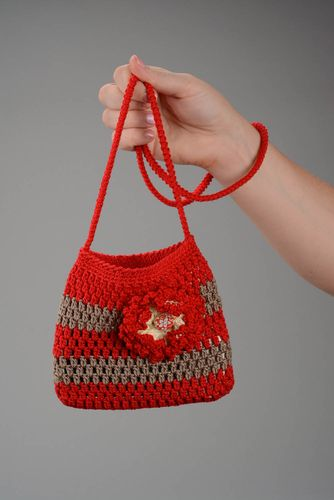Crocheted purse for baby - MADEheart.com